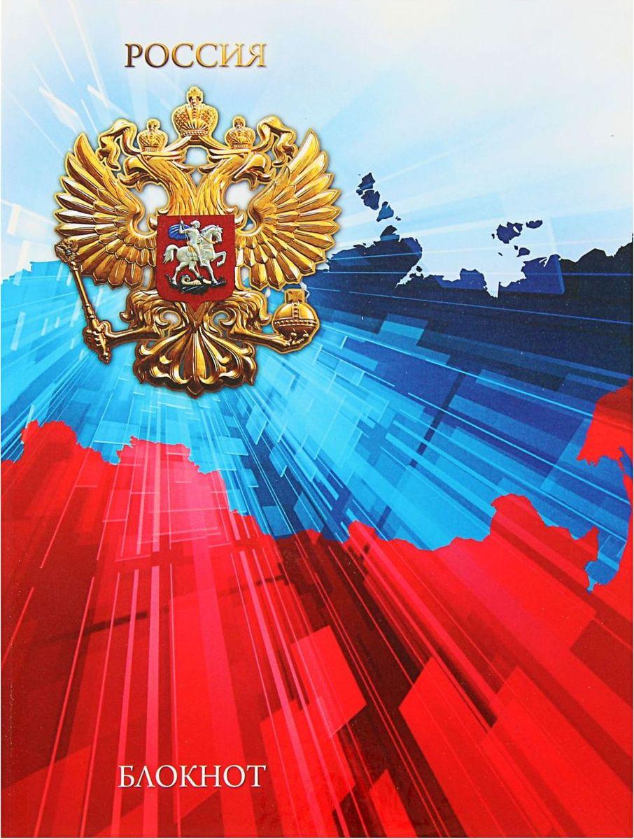 Проф-Пресс Записная книжка Контур России 80 листов1844733