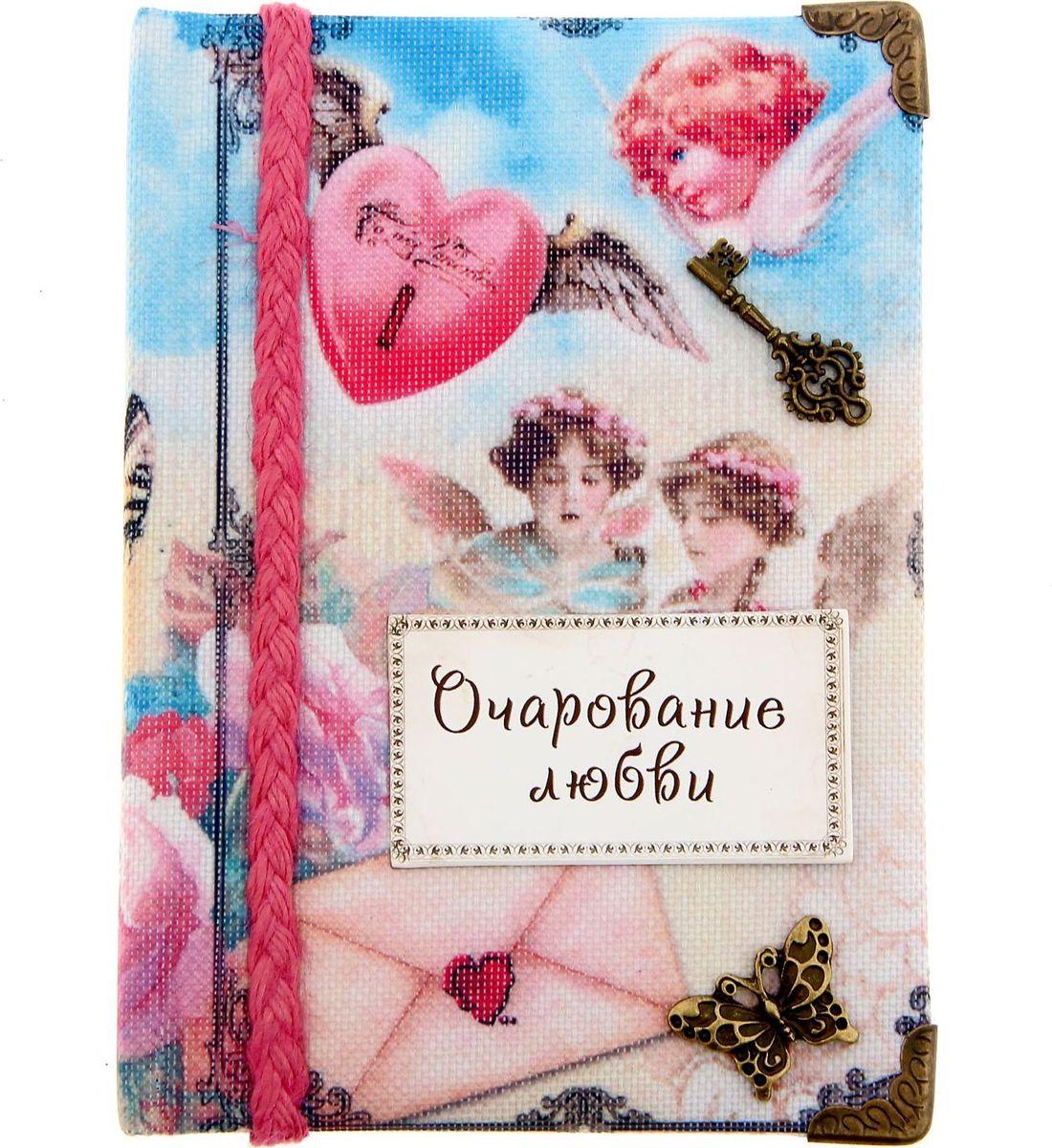 Записная книжка Очарование любви 70 листов