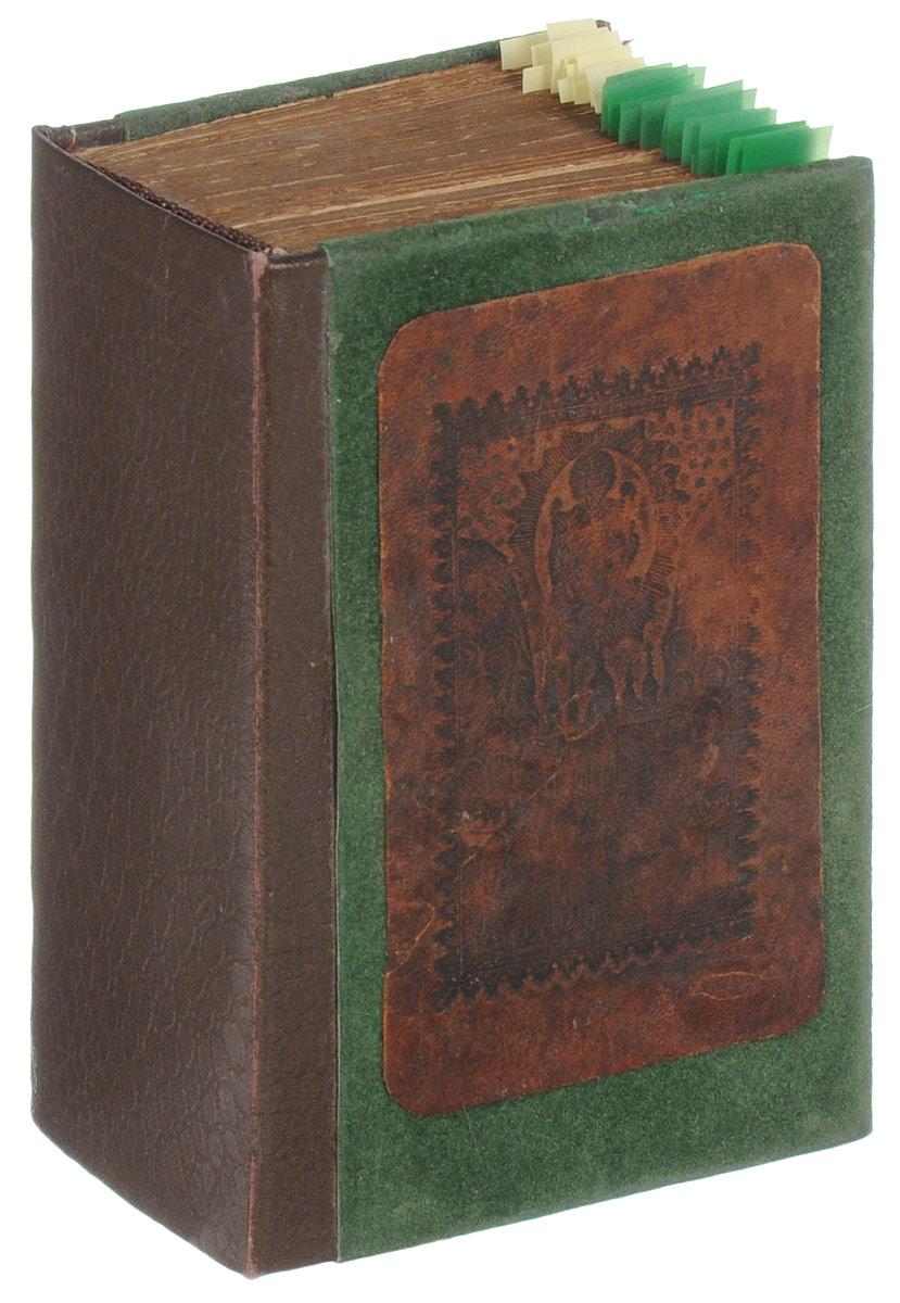 Канноник (с 45 гравюрами своего времени)UDC410142Российская империя, первая четверть XIX века. Издательство не указано.Иллюстрированное издание с 45 гравюрами своего времени.Владельческий переплет.Сохранность хорошая.Канонник - богослужебная книга, содержащая в себе избранные каноны Богоматери, бесплотным силам и др., а также некоторые другие молитвы. Канонник используется преимущественно в церковном богослужении, но может быть использован и в келейной (домашней) молитве вместо молитвослова, т.к. содержит утренние и вечерние молитвы, а также правило ко святому причащению.Канонник как тип книги был весьма нестабилен по своему содержанию, как в рукописной, так и в печатной традиции. Даже в XIX веке печатные старообрядческие Канонники могли существенно отличаться друг от друга. Их содержание к XIX веку существенно расширилось и включало большое разнообразие канонов церковным праздникам и святым. В Канонниках традиционно печатались самые необходимые каждому верующему человеку тексты - каноны за болящего, за умершего, ангелу-хранителю и некоторые иные, а также праздничные каноны, посвященные прославлению рождества Богородицы, рождества Христова, пасхальный канон, каноны мученикам и святым и др.Не подлежит вывозу за пределы Российской Федерации.