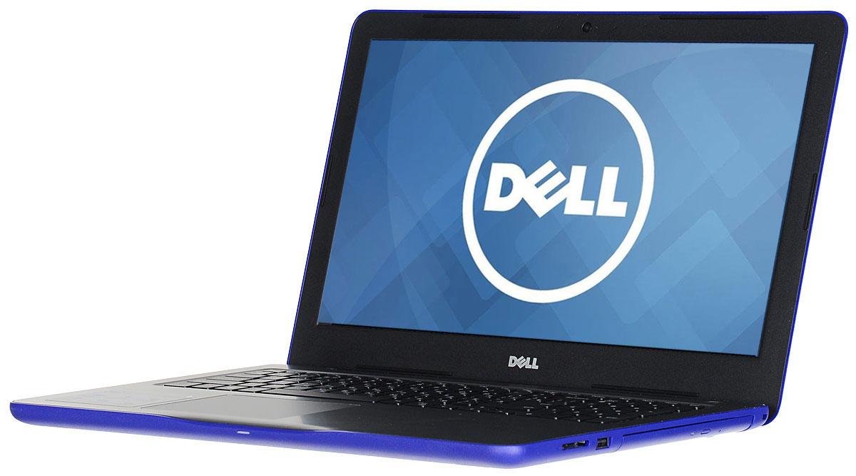 Dell Inspiron 5-8031, Blue5-8031Ноутбук Dell Inspiron 5 невероятно портативен, поэтому вы можете эффективно работать и оставаться на связи в любой точке мира. Его корпус отличается тонкой (всего 23,3 мм) и легкой конструкцией, а также удобно открывается.Благодаря выделенному графическому адаптеру AMD Radeon R5 M435 с памятью GDDR5 объемом 2 Гбайта и новейшим процессорам AMD A6 вы получаете высокую производительность без задержки, что гарантирует плавное воспроизведение музыки и видео при фоновом выполнении других программ.Сделайте Dell Inspiron 5 своим узлом связи. Поддерживать связь с друзьями и родственниками никогда не было так просто благодаря надежному WiFi-соединению и Bluetooth 4.0, встроенной HD веб-камере высокой четкости, ПО Skype и 15,6-дюймовому экрану, позволяющему почувствовать себя лицом к лицу с близкими.Абсолютное удобство просмотра на дисплее с разрешением HD. Наслаждайтесь превосходным изображением на большом экране с диагональю 15 дюймов, который идеально подходит для проектов и потоковой передачи.Смотрите фильмы с DVD-дисков, записывайте компакт-диски или быстро загружайте системное программное обеспечение и приложения на свой компьютер с помощью внутреннего дисковода оптических дисков.Точные характеристики зависят от модели.Ноутбук сертифицирован EAC и имеет русифицированную клавиатуру и Руководство пользователя.