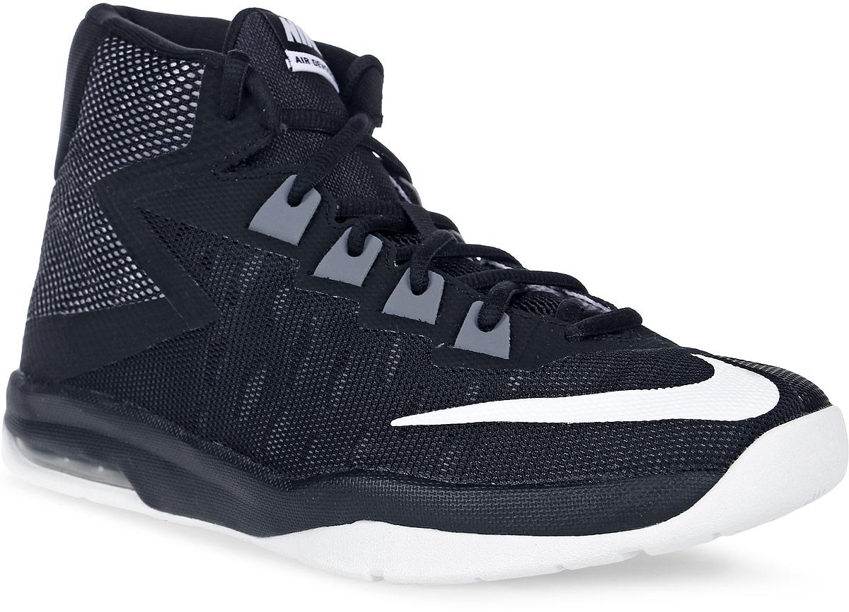 Кроссовки для мальчика Nike Nike Air Devosion Bg, цвет: черный, белый. 845081-001. Размер 7 (39)845081-001Модные кроссовки для мальчика Air Devosion Bg от Nike выполнены из текстиля и дополнены бесшовными накладками. Подкладка и стелька из текстиля обеспечивают комфорт. Шнуровка надежно зафиксирует модель на ноге. Подошва дополнена рифлением.