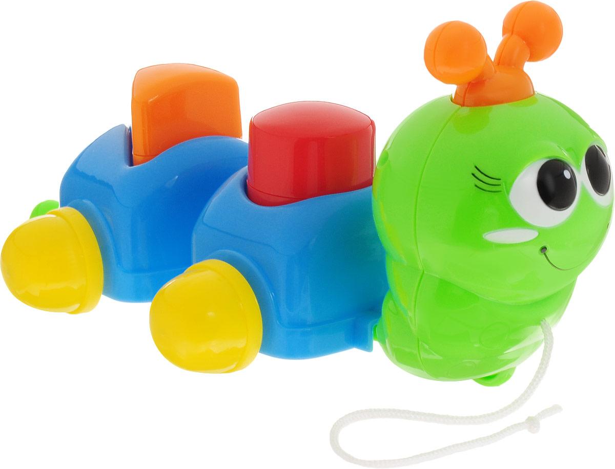 Simba Игрушка-каталка Гусеничка цвет зеленый фигурки игрушки simba пожарный сэм фигурки 7 5см 3в 24 96
