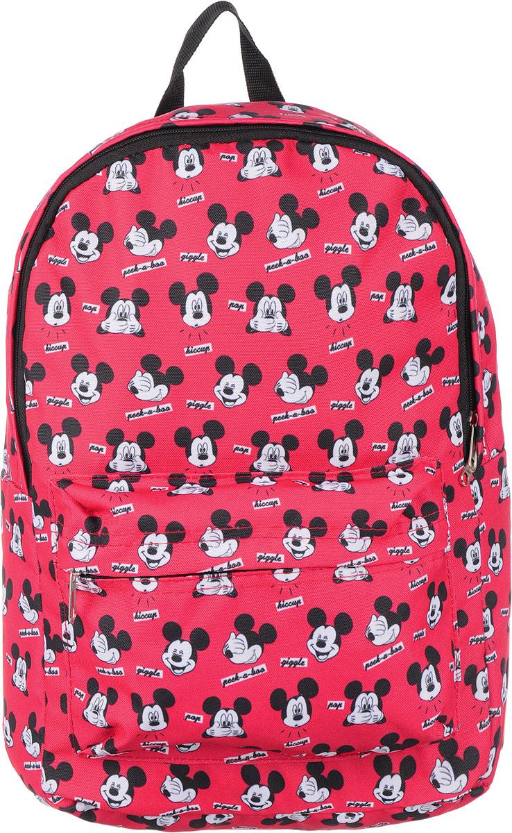 Рюкзак Elisir, цвет: красный, 40 х 28 см. DE-MM003-RD0002 рюкзак для мальчика elisir цвет черный de dv009 gs0007 000