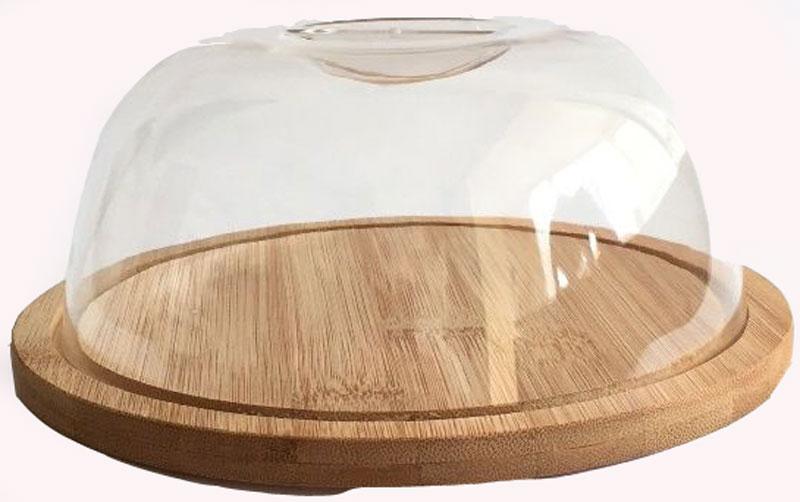 Сырница Dommix, диаметр 19 смBNB4570Сырница Dommix состоит из подноса, изготовленного из бамбука и прозрачной пластиковой крышки. Она предназначена для удобного хранения и красивой сервировки различных сортов сыра, а также других продуктов. Поднос изготовлен из бамбука и имеет специальные выемки, благодаря которым крышка легко на него устанавливается. Он может использоваться как для хранения и сервировки сыра, так и для нарезания продуктов. Сырница Dommix станет незаменимым помощником на вашей кухне. Упаковано в коробку.