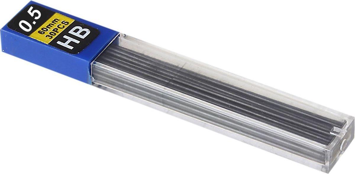 Грифель для механического карандаша 0,5 мм 30 шт539146Грифели для механических карандашей НВ (0,5мм, 30шт.) поможет организовать ваше рабочее пространство и время. Востребованные предметы в удобной упаковке будут всегда под рукой в нужный момент.Изделия данной категории необходимы любому человеку независимо от рода его деятельности. У нас представлен широкий ассортимент товаров для учеников, студентов, офисных сотрудников и руководителей, а также товары для творчества.