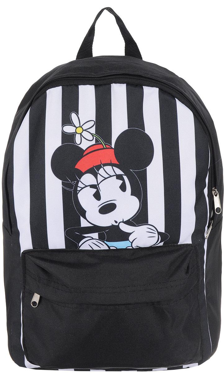 Рюкзак Elisir, цвет: черный, белый, 40 х 28 см. DE-MM002-RD0002