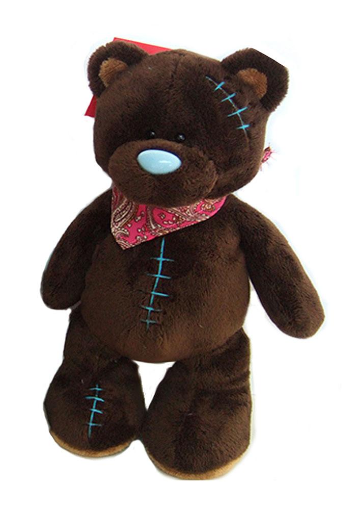 Sonata Style Мягкая игрушка Медведь Синий носик цвет коричневый 25 см sonata style собачка gt9041 на р у ходит лает виляет хвостом на батарейках tm sonata style
