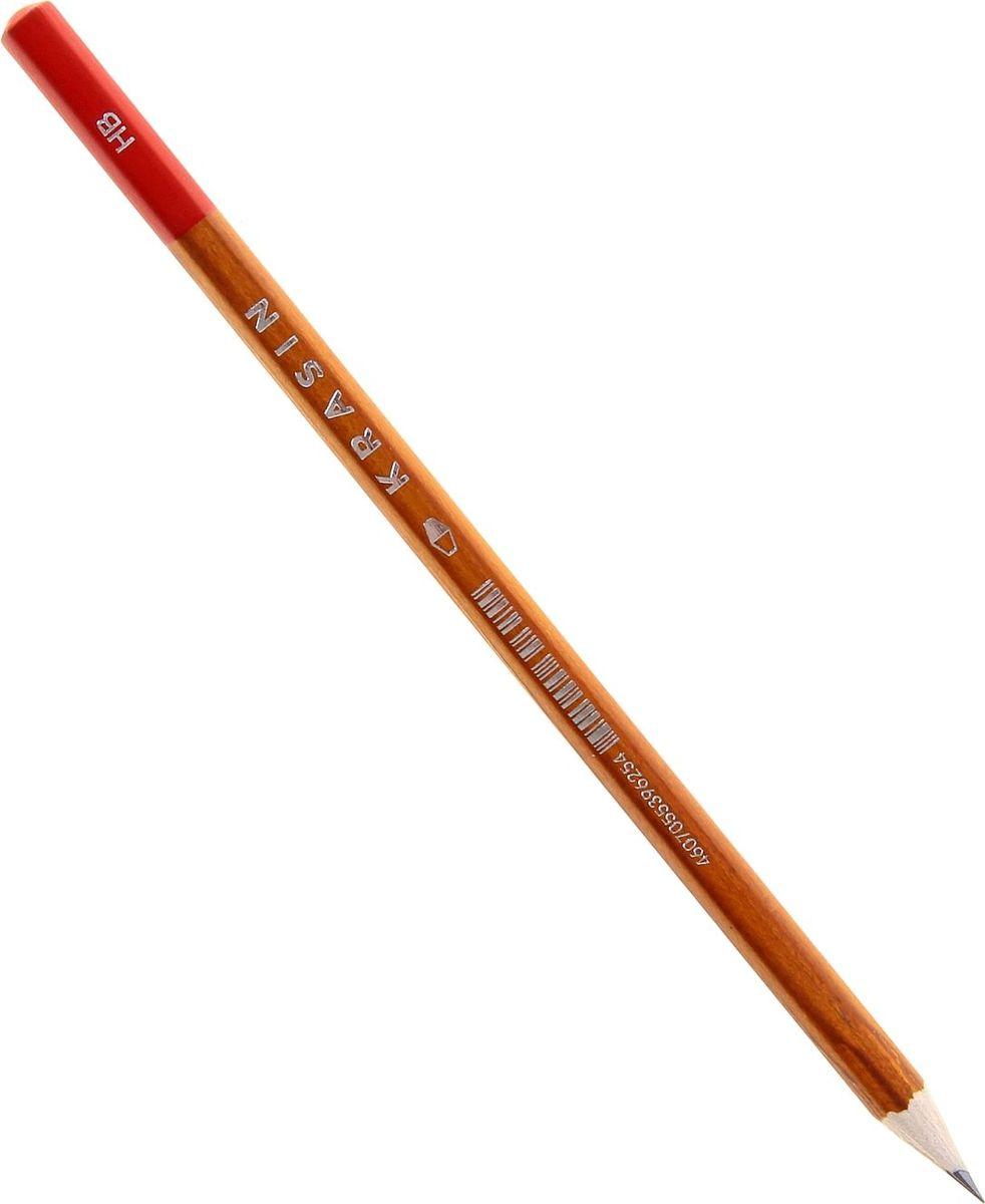 Красин Карандаш чернографитный Конструктор твердость HB1071597Чернографитный карандаш Красин Конструктор - идеальный инструмент для письма, рисования и черчения.Шестигранный корпус выполнен из дерева.Высококачественный ударопрочный грифель не крошится и не ломается при заточке.