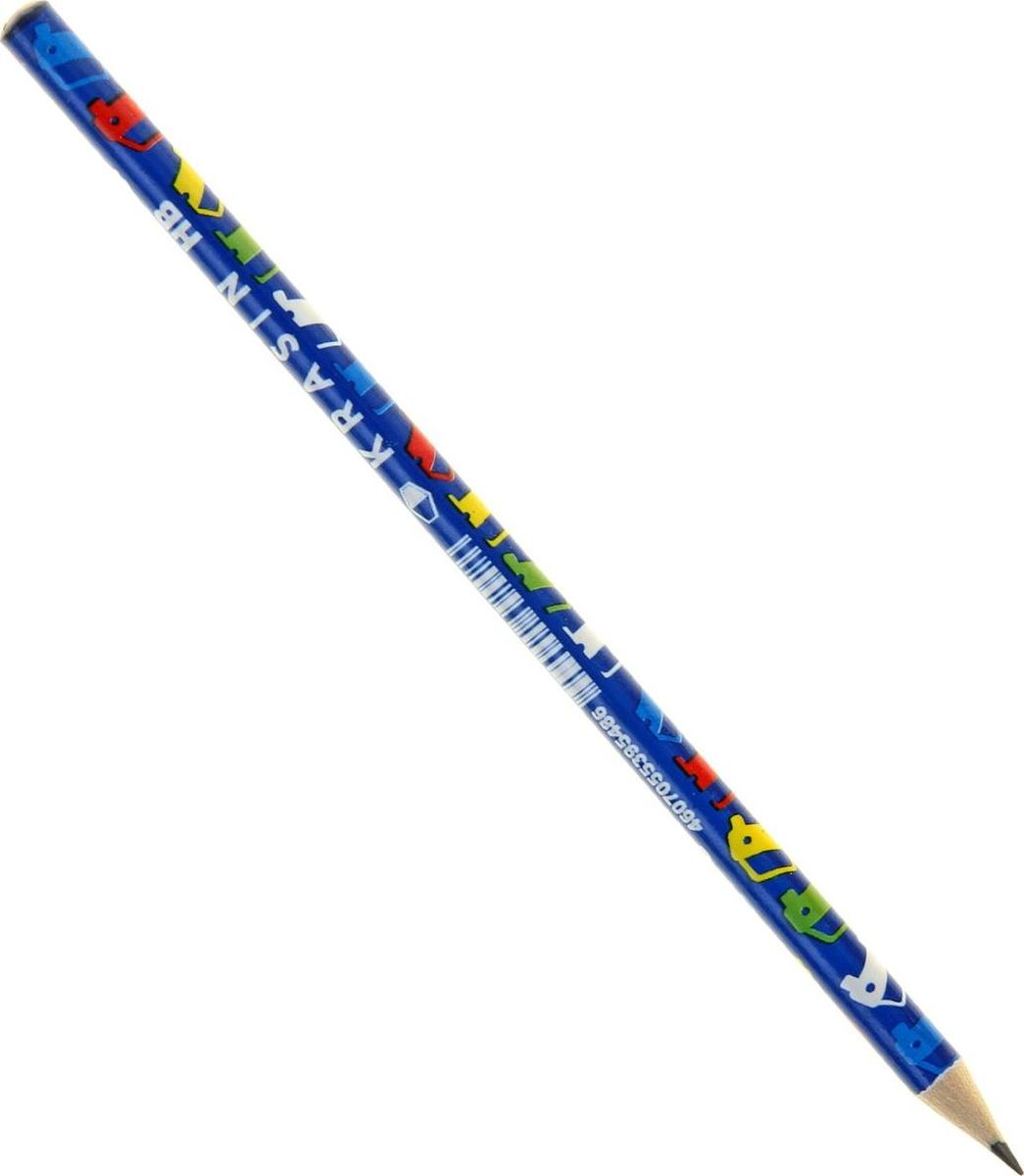 Красин Карандаш чернографитный Автомобили1143177Простые чернографитные карандаши - основа любого художественного начинания. Что бы вы ни делали - эскизы, рисунки, наброски - этот инструмент становится важнейшим и незаменимым помощником. Очень важно, чтобы грифель был качественным, не оставлял неряшливых и неопрятных следов, не пачкал руки и не ломался.