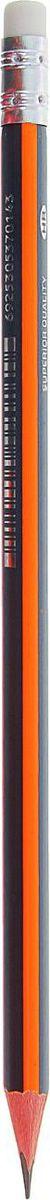Deli Карандаш чернографитный цвет корпуса черный оранжевый1272824Простые чернографитные карандаши — основа любого художественного начинания. Что бы вы ни делали — эскизы, рисунки, наброски, пометки — карандаш становится важнейшим инструментом и незаменимым помощником. Очень важно, чтобы грифель был качественным, не оставлял неряшливых и неопрятных следов, не пачкал руки и не ломался. Чернографитный карандаш с ластиком DELI — прекрасное сочетание выгодной цены и высокого качества. Прочный графитовый стержень не крошится, а деревянный корпус карандаша легко затачивается. ОсобенностиИзготовлен из высококачественной древесины (липа).Содержит нетоксичную экологичную краску.