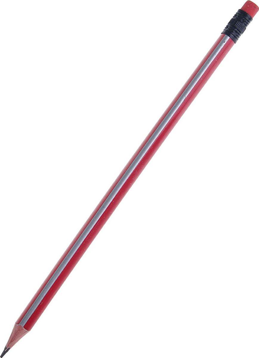 Карандаш чернографитный с ластиком цвет корпуса красный серый1299431Чернографитный карандаш треугольной формы пригодится для письма, рисования и черчения не только школьнику, но и студенту. Корпус выполнен из высококачественной древесины. Карандаш мягко скользит по поверхности, оставляя яркую четкую контрастную линию. Ударопрочный грифель проклеен по всей длине, не ломается и не крошится при заточке. Карандаш предварительно заточен. Ластик на конце карандаша всегда поможет исправить погрешность.
