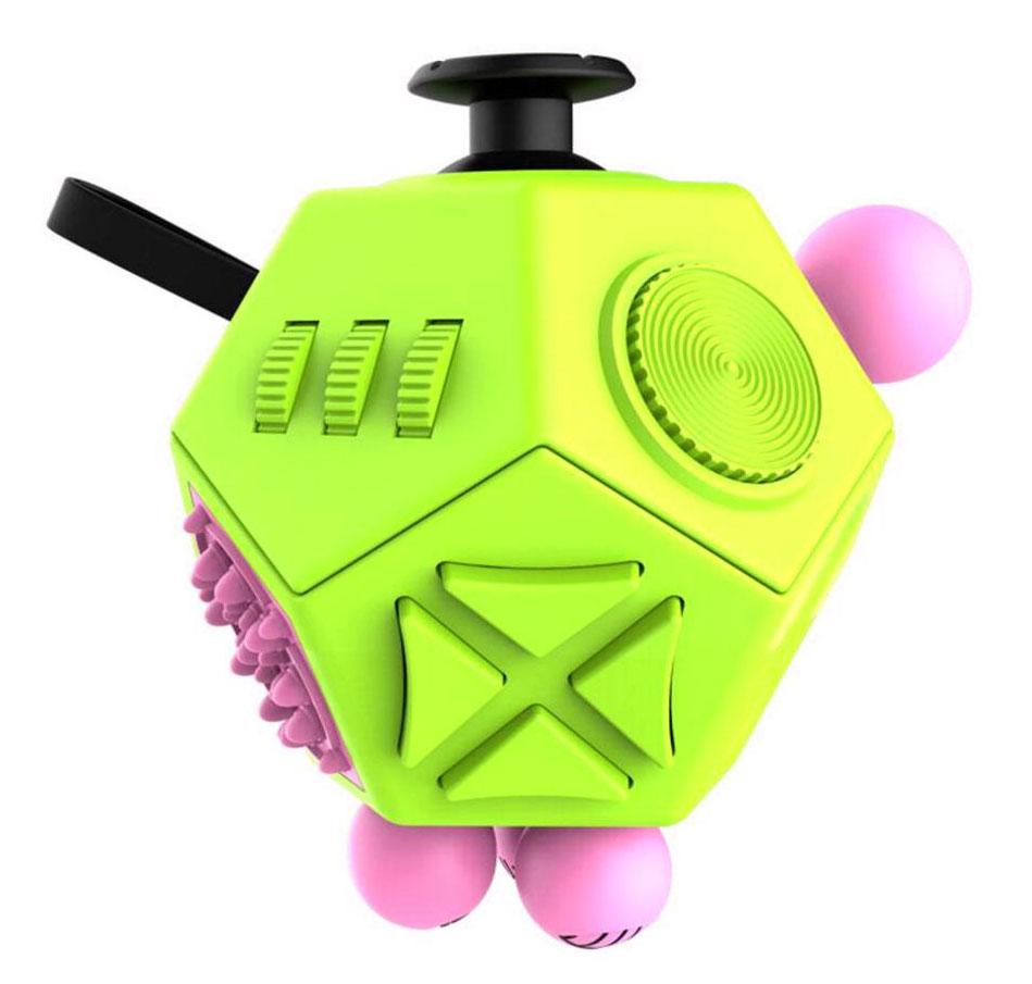 Fidget Cube 2.0 Игрушка-антистресс цвет зеленый розовый - Развлекательные игрушки