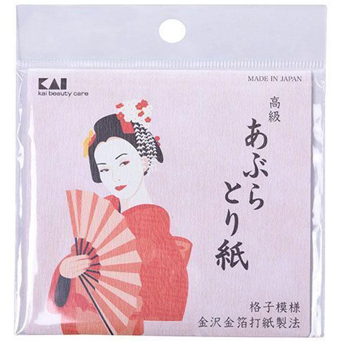Kai матирующие салфетки для лица Kai, 50 шт28255В качестве сырья используются волокна натуральной японской бумаги Васи?, отлично впитывающей излишки кожного жира. Салфетки подходят даже чувствительной кожи.