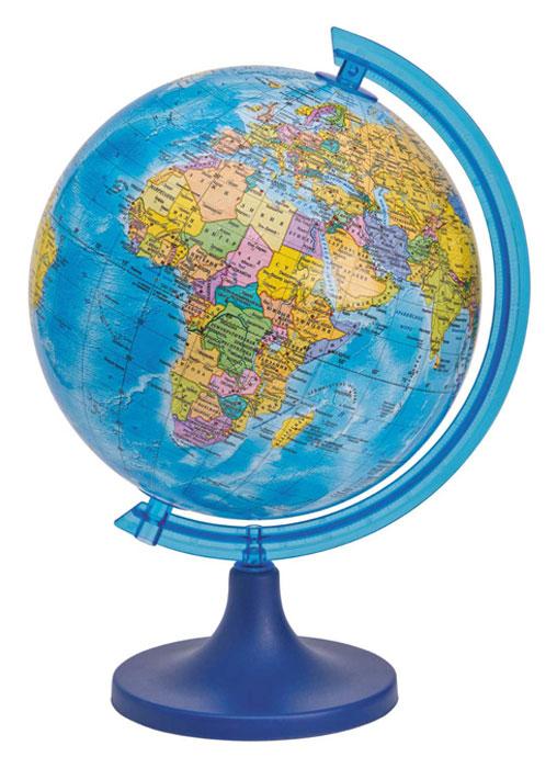 Глобус DMB, c политической картой мира, диаметр 16 см + Мини-энциклопедия Страны МираОСН1224096Политический глобус DMB, изготовленный из высококачественногопрочного пластика, дает представление о политическом устройстве мира.Изделие расположено на подставке. Все страны мира раскрашены в разныецвета. На политическом глобусе показаны границы государств, столицы икрупные населенные пункты, а также картографические линии: параллели имеридианы, линия перемены дат. Названия стран на глобусе приведены нарусском языке. Ничто так не обеспечивает всестороннего и детальногоизучения политического устройства мира в таком сжатом и объемном образе,как политический глобус. Сделайте первый шаг в стимулирование своегообучения! К глобусу прилагается мини-энциклопедия Страны Мира с краткимописанием всех стран. Настольный глобус DMB станет оригинальным украшением рабочегостола или вашего кабинета. Это изысканная вещь для стильного интерьера,которая станет прекрасным подарком для современного преуспевающегочеловека, следующего последним тенденциям моды и стремящегося кэлегантности и комфорту в каждой детали.Высота глобуса с подставкой: 24 см.Диаметр глобуса: 16 см.Масштаб: 1:80 000 000.