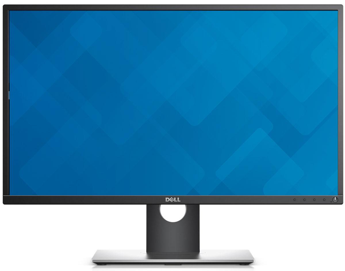 Dell P2717H, Black монитор2717-4633Монитор Dell P2717H повышает производительность на рабочем месте, обеспечивая дополнительное удобстводля пользователя. Идеально подойдет профессионалам, подолгу работающим за компьютером, которым нуженмонитор с великолепным качеством изображения, не перенапрягающий глаза.Абсолютная четкость. Вы получаете монитор с превосходным качеством изображения, точной цветопередачей,невероятно широким углом обзора и высокой динамической контрастностью (4 000 000:1).Технология Dell ComfortView снижает уровень синего свечения экрана, а благодаря питанию постоянным токомобеспечивается отсутствие мерцания изображения. Функция Dell Easy Arrange позволяет без труда располагать ипросматривать сразу несколько приложений на рабочем столе.Вы можете легко выбрать нужный угол, высоту и расположение монитора, чтобы наслаждаться великолепнымизображением на нескольких мониторах без лишних усилий. Благодаря тонкой рамке работать на несколькихмониторах гораздо удобнее, а изображение выглядит почти единым.Различные порты на нижней и боковой панели монитора позволяют без труда подключать всевозможныеустройства.