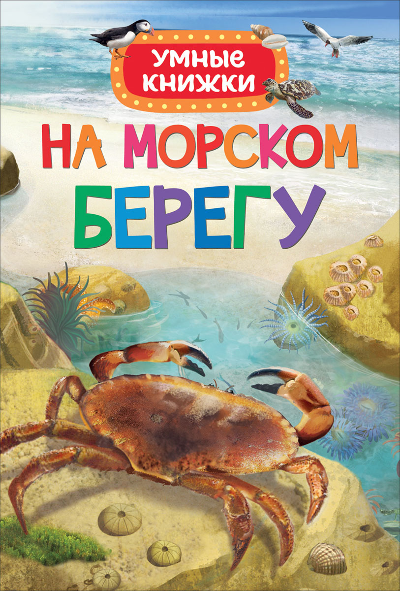 Э. Боун На морском берегу. Умные книжки