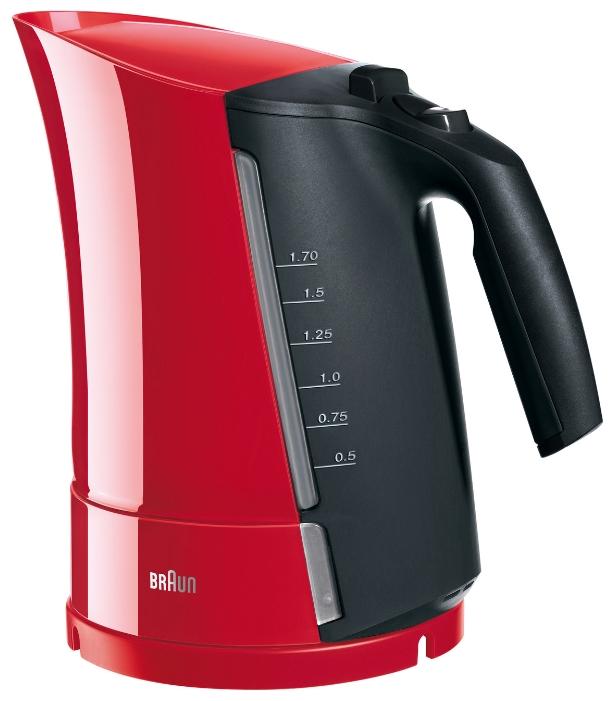 Braun WK 300, Red, электрочайник - Чайники
