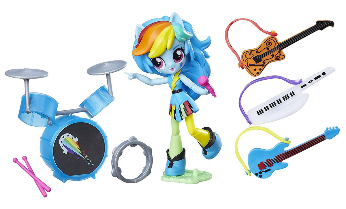 My Little Pony Игровой набор Rainbow Dash Rockin' Music Class my little pony игровой набор dress shop rarity
