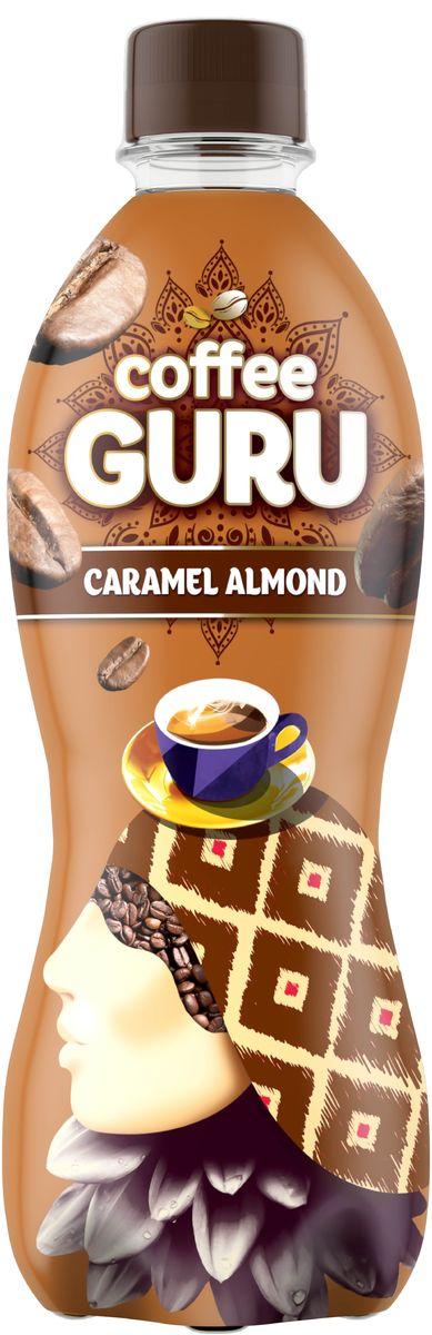 Coffee Guru Caramel Almond негазированный кофейный напиток со вкусом карамель-миндаль, 0,5 л4607050697240Этот бодрящий чуть горьковатый с нотами ореха напиток с глубоким вкусом всегда манит к себе, дарит мгновения покоя и заряд энергии. Новый Coffee Guru - идеальное сочетание традиций кофе и заряд бодрости на весь день! Впусти в себя тепло и густоту почти магического напитка - попробуй Coffee Guru Caramel Almond.