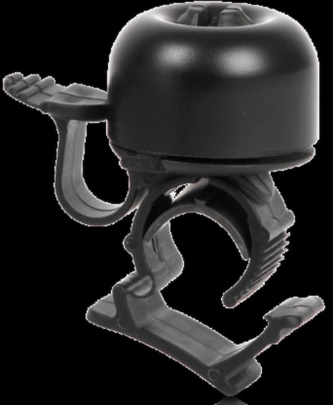 Звонок велосипедный Zefal Piing, цвет: черный