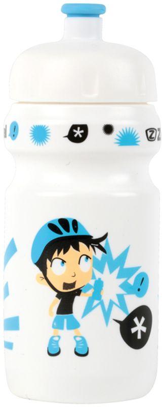 Фляга велосипедная Zefal Little Z - Z-Boy, детская, цвет: белый, 350 мл zefal z light pack s