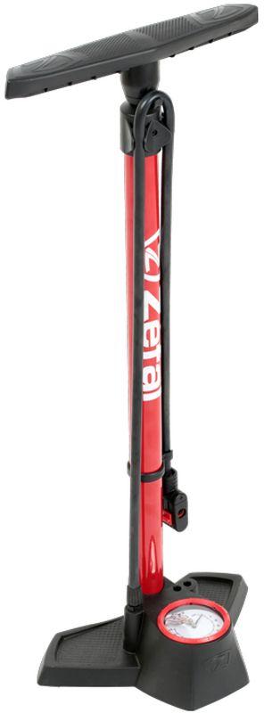 Насос велосипедный Zefal Profil Max FP30, напольный, цвет: черный мини насос zefal max ручной универсальный цвет черный