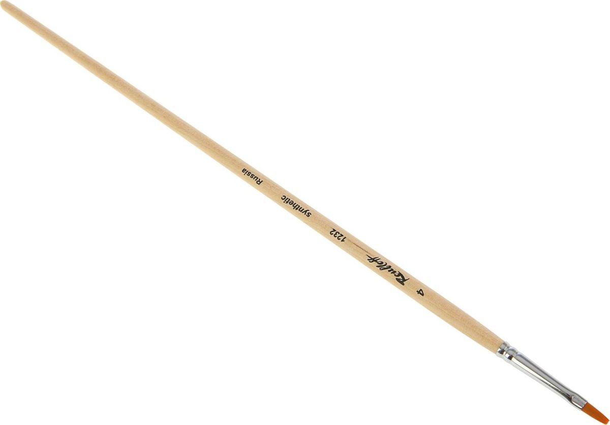 Roubloff Кисть 1232 синтетическая овальная № 41767117Художник - натура творческая и требовательная. Особенно это касается выбора инструментов для создания своих шедевров.Овальная кисть Roubloff 1232 из синтетики позволяет создавать на белом листе удивительные картины и образы. Изделие имеет деревянную ручку, покрытую лаком, и металлическую обойму.Инструмент поможет вам творить и вдохновит на создание новых шедевров!