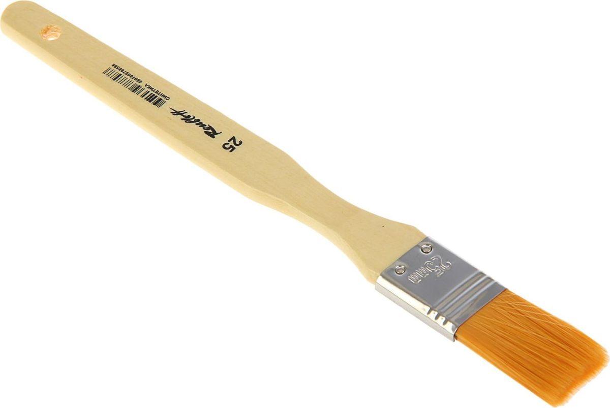 Roubloff Кисть Флейц специальная синтетическая № 251767240Кисть Roubloff Флейц изготовлена из специально подобранной синтетики средней жесткости.Плоская широкая кисть имеет деревянную ручку и медную хромированную обойму.Такую кисть можно использовать для художественных работ различными красками. Кисть удобна для окрашивания работ большого формата.