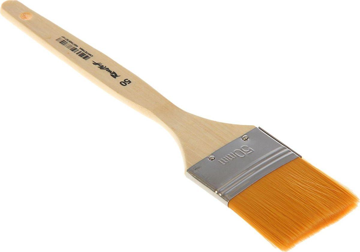 Roubloff Кисть Флейц специальная синтетическая № 501767243Кисть Roubloff Флейц изготовлена из синтетики.Плоская широкая кисть имеет деревянную ручку и медную хромированную обойму.Такую кисть можно использовать для художественных работ различными красками. Кисть удобна для окрашивания работ большого формата.