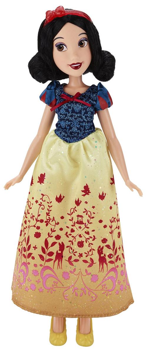 Disney Princess Кукла Королевский Блеск Белоснежка мягкая игрушка chicco волшебные мелодии принцесс disney белоснежка кукла разноцветный текстиль 35 см