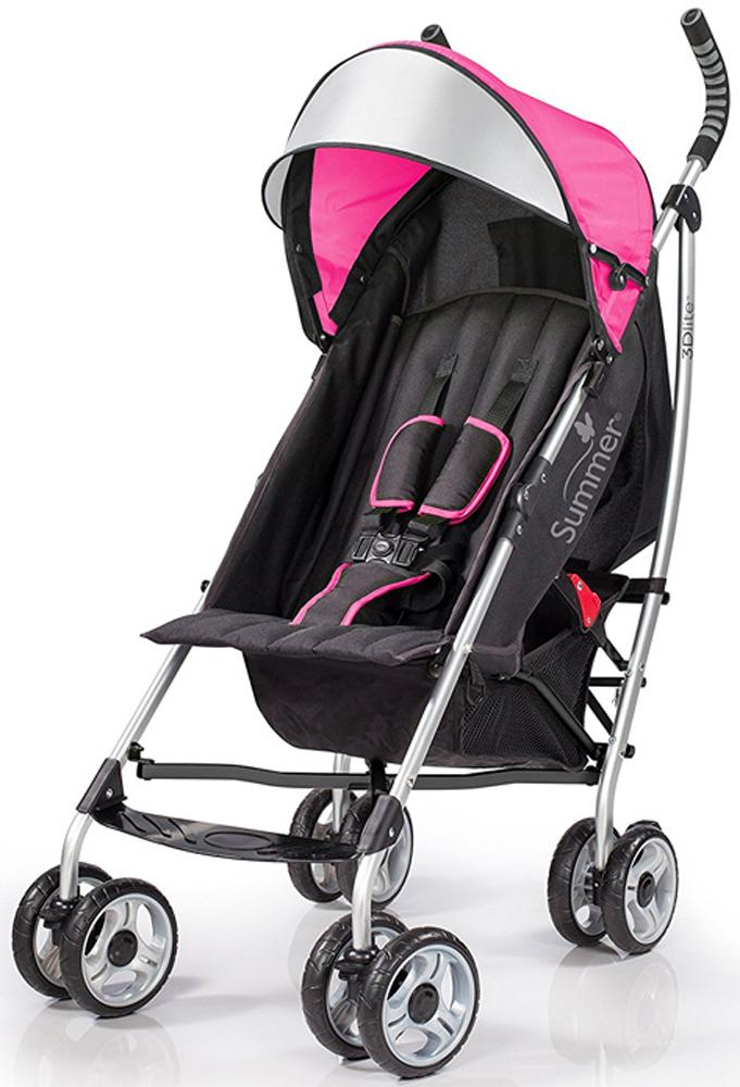 Summer Infant Коляска прогулочная 3D Lite цвет розовый