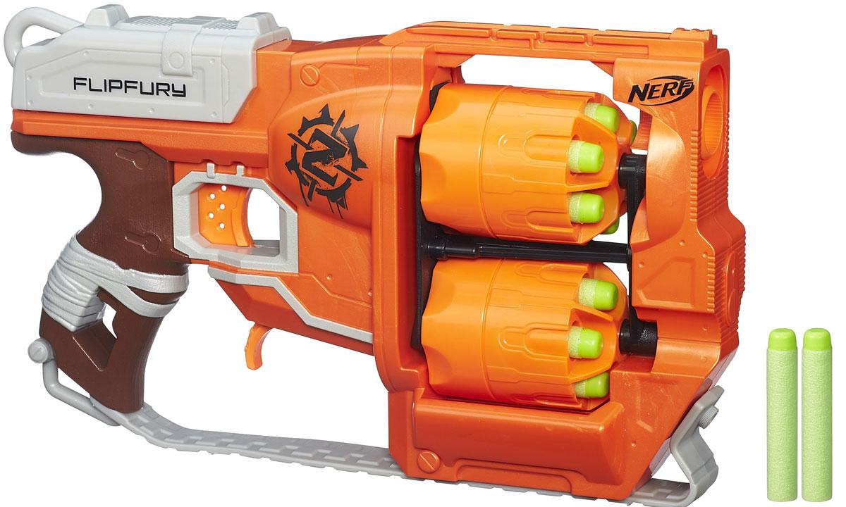 Nerf Бластер Flipfury - Игрушечное оружие