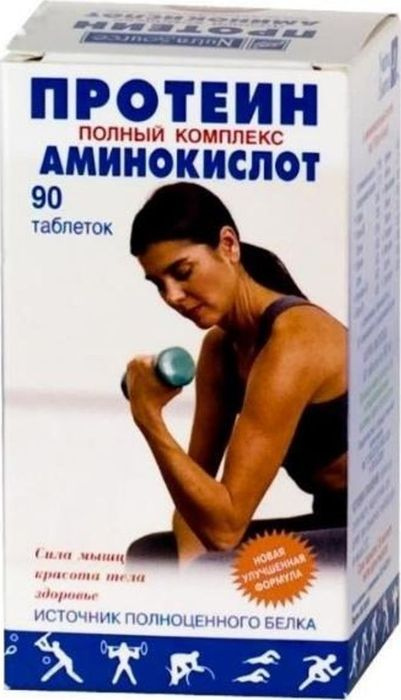 Протеин таблетки жевательные 600 мг №9029382Сфера применения: ДиетологияКоррекция фигуры