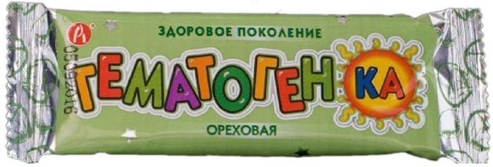 Батончик Гематогенка, ореховый, 40 г39351БАД, общеукрепляющее, противоанемическое, дополнительный источник железа. Сфера применения: витаминология, железо.