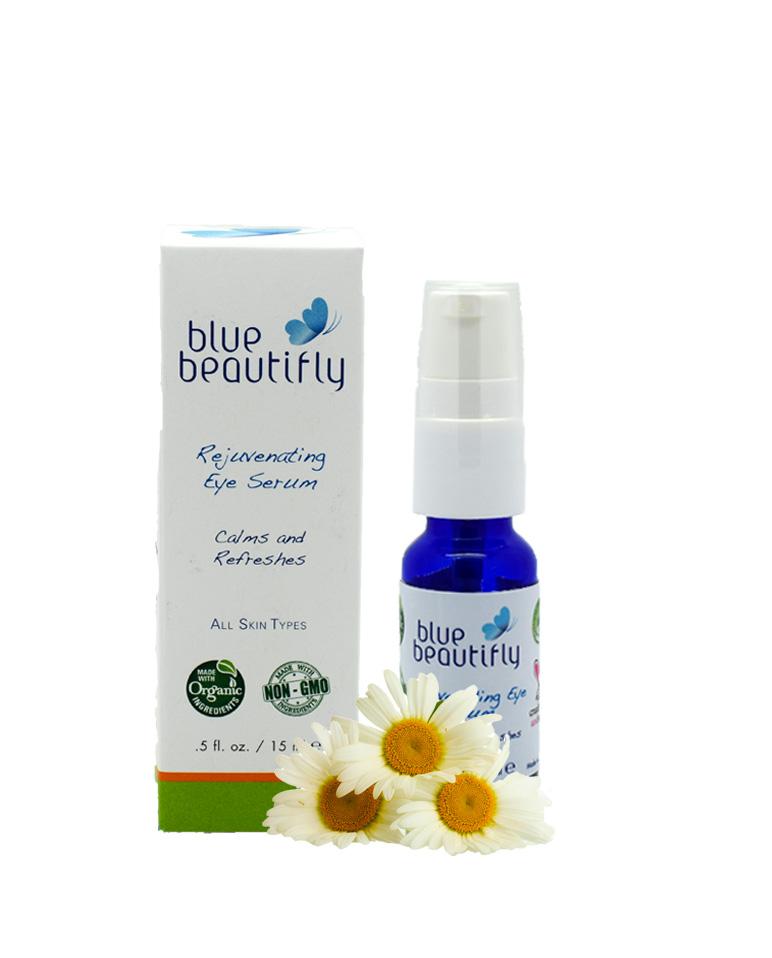 Blue Beautifly Омолаживающая сыворотка для области вокруг глаз, 15 мл сыворотки blue beautifly сыворотка для лица с антиоксидантами