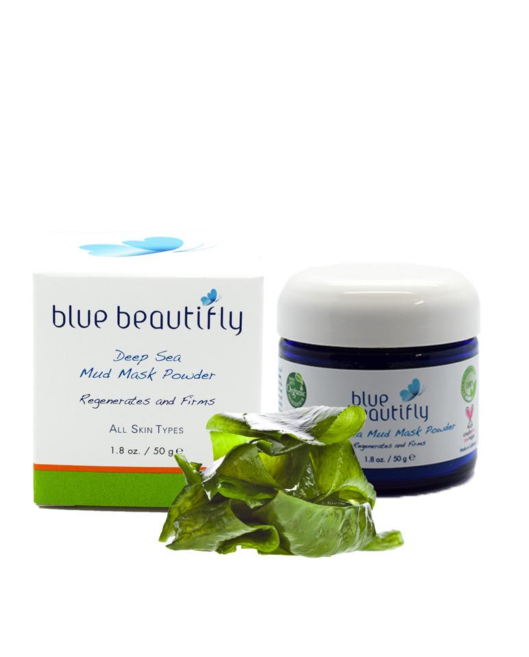 Blue Beautifly Сухая маска-пилинг с морскими минералами, 50 г сыворотки blue beautifly сыворотка для лица с антиоксидантами
