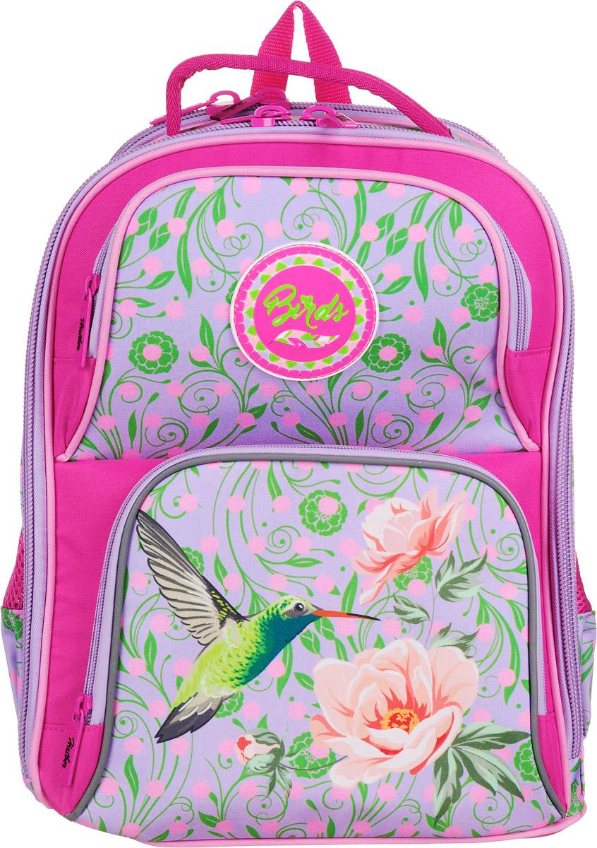 Hatber Рюкзак Comfort Райские птички рюкзак школьный hatber trend line хатико цвет черный