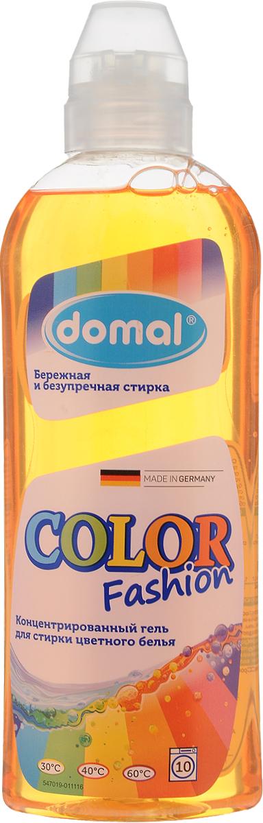 Гель для стирки Domal Color Fashion, концентрированный, для цветного белья, 375 мл37551Концентрированный гель для стирки Domal Color Fashion предназначен для ручной и машинной стирки цветных изделий из хлопчатобумажных и синтетических тканей. Гель гарантирует безупречное качество стирки, сохраняет и освежает яркость цвета, предупреждает смешивание красок благодаря специальной активной формуле защиты цвета. Регулярное использование Domal Color Fashion сохранит форму, первоначальный внешний вид и цвет ваших вещей. Средство подходит для всех типов стиральных машин и ручной стирки при температуре от 30 до 60°С. Содержит добавки, препятствующие образованию накипи. Экономично: 1 флакона средства достаточно для стирки 25 кг сухого белья. Не рекомендуется использовать для стирки изделий из шерсти и шелка. Товар сертифицирован.
