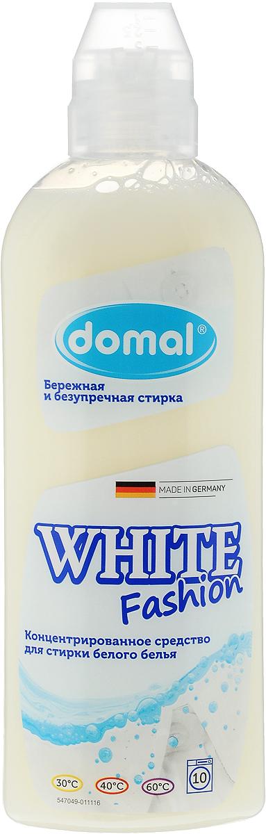 Средство для стирки Domal White Fashion, концентрированное, для белого белья, 375 мл37581Концентрированное средство для стирки Domal White Fashion специально предназначено для белого белья из всех видов тканей, включая шелк. Обеспечивает безупречное качество стирки, придает белью сияющую белизну и свежесть, предотвращает появление серого оттенка, защищает структуру ткани. Регулярное использование Domal White Fashion сохранит форму и первоначальный внешний вид ваших вещей. Средство предназначено для всех типов стиральных машин и ручной стирки при температуре от 30 до 60°С. Содержит добавки, препятствующие образованию накипи. Экономичен: 1 флакона средства достаточно для стирки 25 кг сухого белья. Товар сертифицирован.