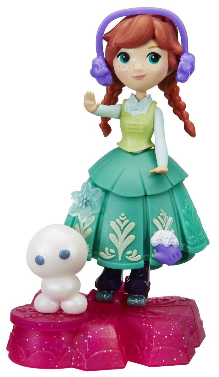 Disney Frozen Игровой набор с куклой Принцесса Анна на движущейся платформе-снежинке стоимость