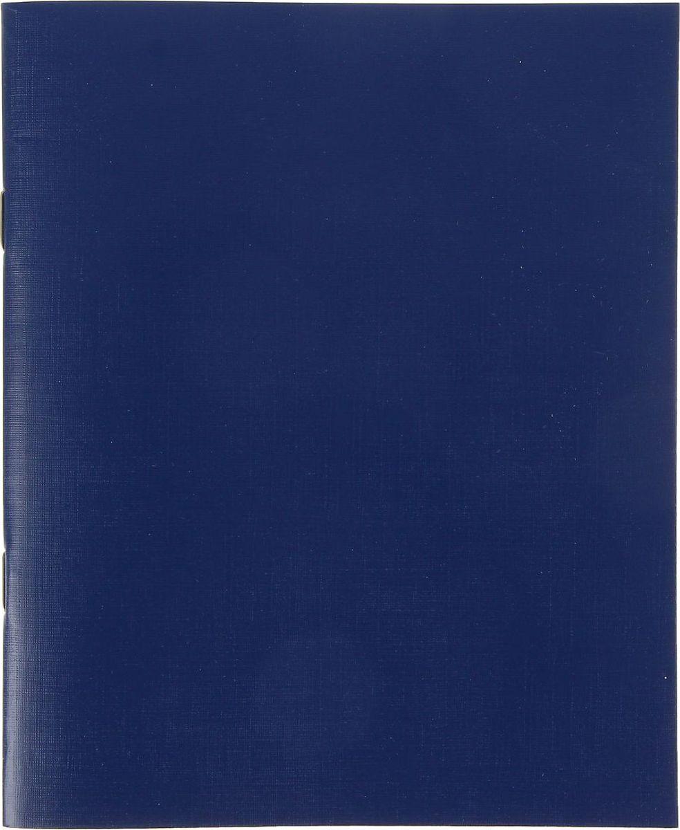 КПК Тетрадь 48 листов в клетку цвет синий1191024Тетрадь КПК идеально подойдет для занятий школьнику и студенту.Обложка, выполненная из картона, сохранит тетрадь в аккуратном состоянии на протяжении всего времени использования. Внутренний блок состоит из 48 листов белой бумаги в клетку с полями.