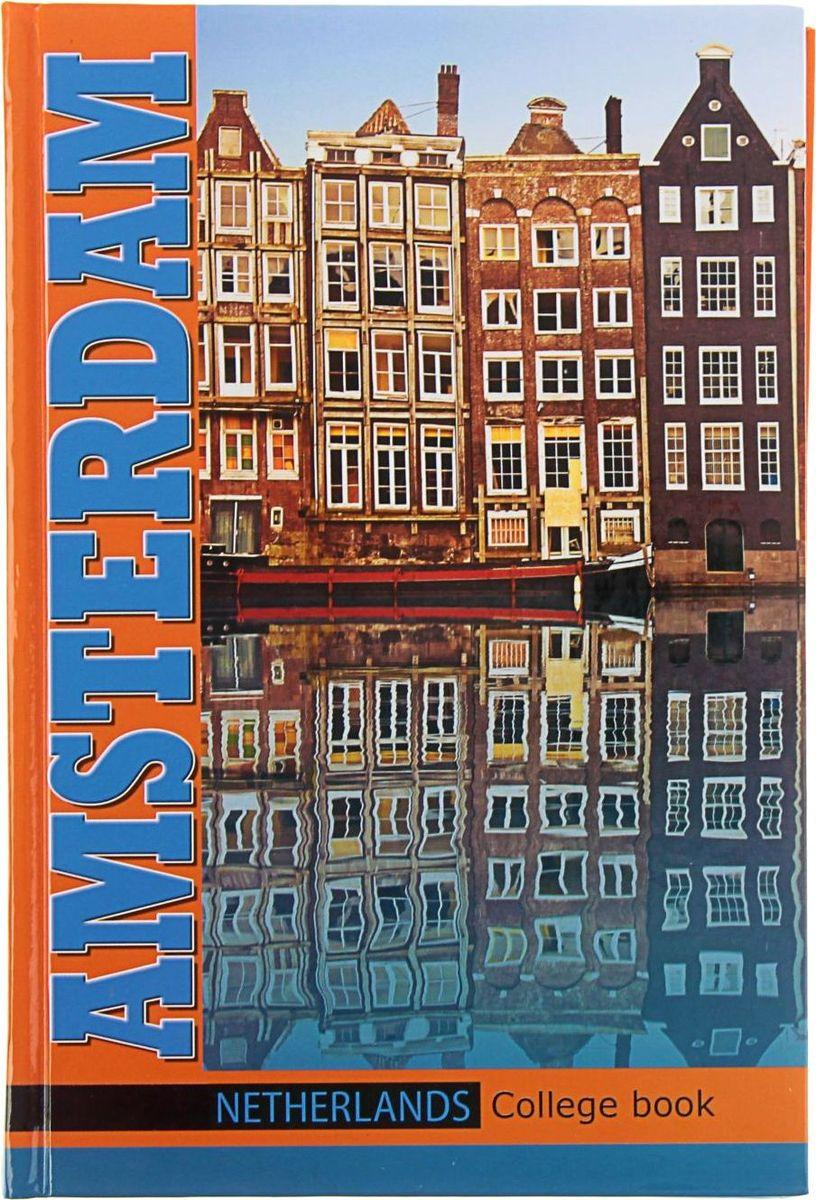 Бриз Тетрадь Амстердам 160 листов в клетку бриз тетрадь калейдоскоп 160 листов в клетку