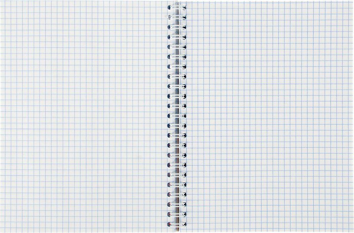 Апплика Тетрадь Российская символика - Герб 3 96 листов в клетку