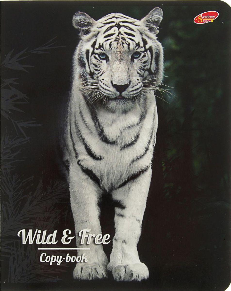 Green Island Тетрадь Животные Wild & Free 80 листов в клетку туфли river island river island ri004awrri05