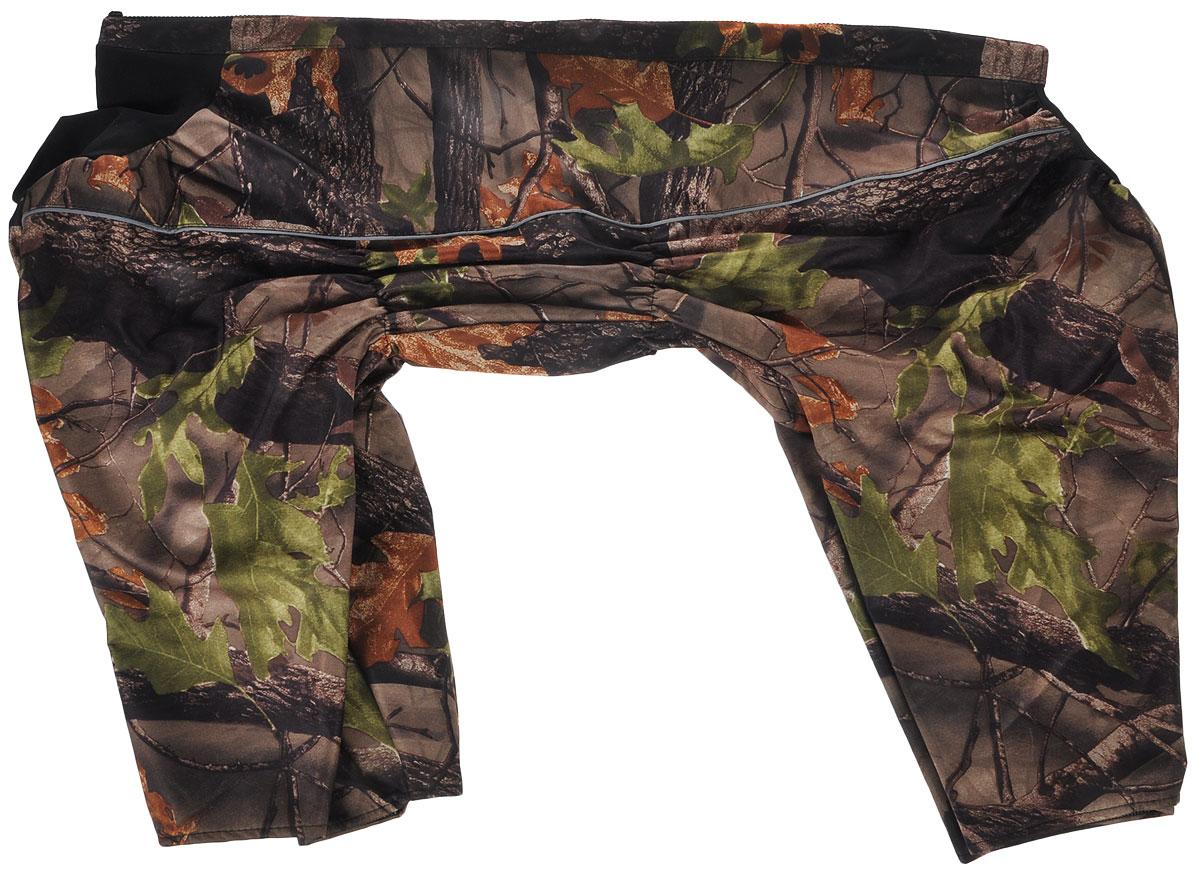 """Комбинезон для собак """"Osso Fashion"""", утепленный, для мальчика, цвет: коричневый, зеленый. Размер 65"""