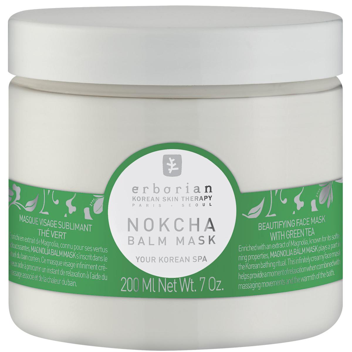 Erborian NOKCHA Очищающая маска для лица, 200 мл242028Обогащённая зеленым чаем, который известен своими целебными и антиоксидантными свойствами, Нокча маска для лица помогает глубоко очистить кожу, удаляя загрязнения и излишки себума. Маска подарит не только чувство свежести и комфорта, но и незабываемые моменты релаксации Вам и Вашей коже. Средство прошло дерматологический контроль.