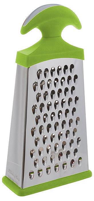 Терка BartonSteel, двугранная, цвет: зеленый, стальной, высота 25 см05883BS/NEW_зеленыйРазмер терки: 12,5 х 5,5 х 25 см.