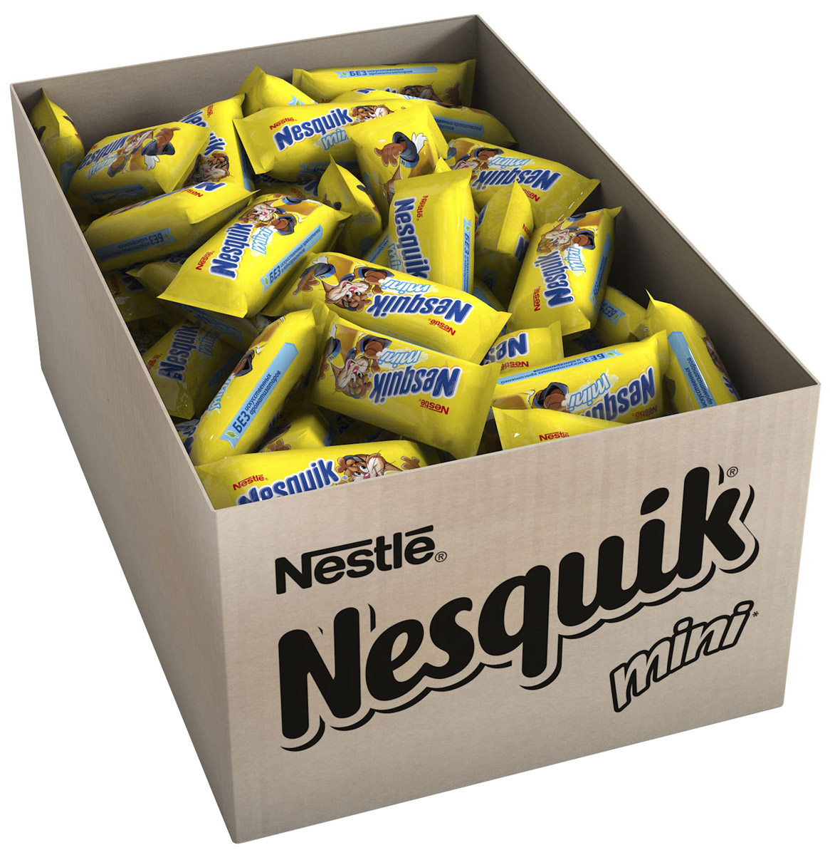 Nesquik Mini молочная начинка, 2 кг12166448Конфета с нугой, молочной начинкой. Отличное лакомство для вашего непоседы, чтобы:- наслаждаться каждый день- поделиться с друзьями- взять с собой.