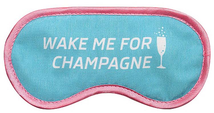 """Маска для глаз Kawaii Factory """"Шампанское"""", цвет: голубой, розовый. KW086-000981"""