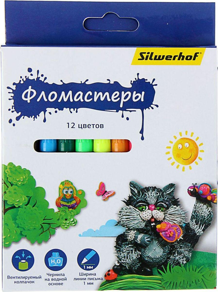 Silwerhof Набор фломастеров Пластилиновая коллекция 12 цветов 14305721430572